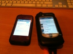lifeproof case and Biologic case