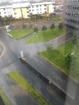 photo of view from Horizon Suite at Sighthill campus